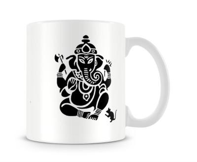 Tashanstreet Attractive Ganapati Ceramic Mug