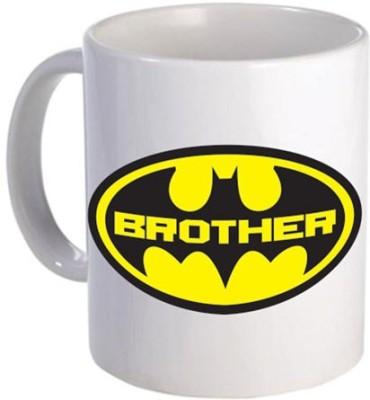 Giftsmate Batman Brother Ceramic Mug