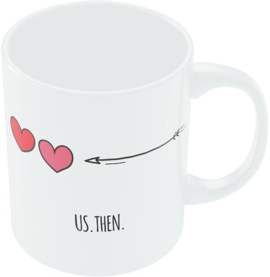 PosterGuy Us then and Now Valentine,s Day Coffee Ceramic Mug