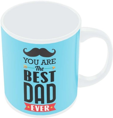 PosterGuy You Are The Best Dad Ever Typography | Father,s Day Gift Ceramic Mug