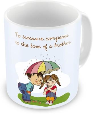 Indian Gift Emporium Cute Brother n Sister Print Delightful Coffee  528 Ceramic Mug