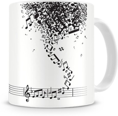 Print Haat Rhythm Music Ceramic Mug