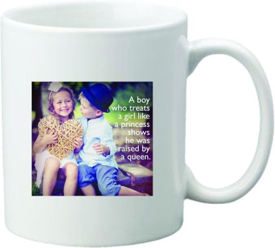 Mugwala Cute Love Ceramic Mug