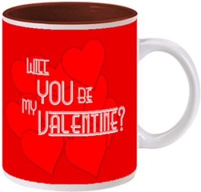 Allthingscustomized Be Valentine Ceramic Mug