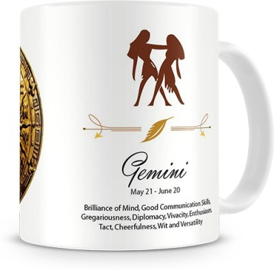 Print Haat Gemini Zodiac Ceramic Mug