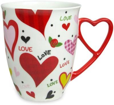 Archies LOVE HEART HANDLE MUG Ceramic Mug