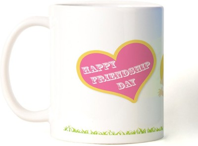 Rockmantra Kids Wishing Happy Friendship Day Ceramic Mug