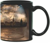 Printland Printland City Life Black Coffee 350 - ml Ceramic Mug(350 ml) best price on Flipkart @ Rs. 349