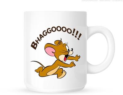Huppme Jerry Run  Ceramic Mug