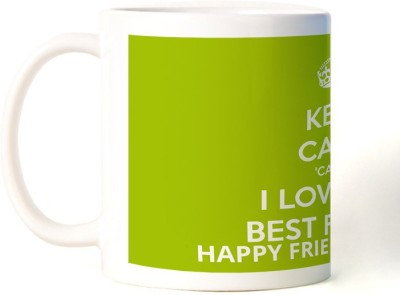 Rockmantra I Love My Friend Happy Friendship Day Ceramic Mug