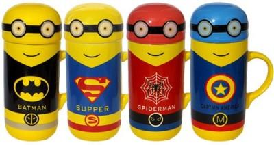 Satyam Kraft Minions Superheros CP001 Ceramic Mug