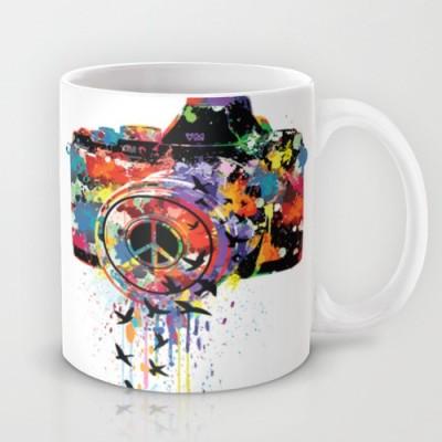 Astrode Paint Dslr Ceramic Mug(325 ml)