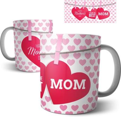 Chiraiyaa Best Mom Happy Mothers Day Ceramic Mug