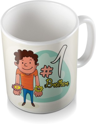 SKY TRENDS GIFT No Matter How Far We Are For Designing Floral Gifts For Rakshabandhan Coffee Ceramic Mug