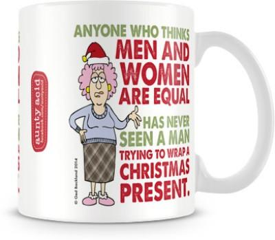 Tashanstreet Aunty Acid - Men and Women are equal Ceramic Mug