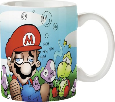 PentaGraphics Smokey Mario Ceramic Mug