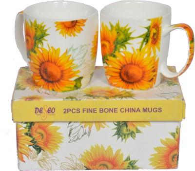 Deseo Sunflower Bone China Mug