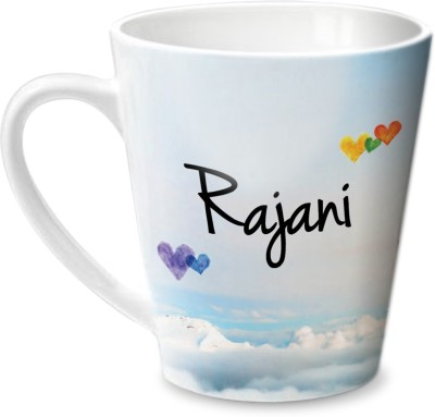 Hot Muggs Simply Love You Rajani Conical  Ceramic Mug