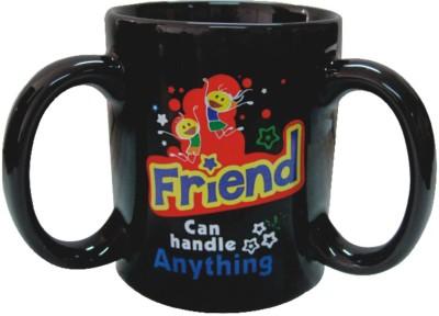 Red Moments Friend Ceramic Mug