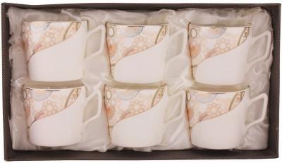 Hi Luxe 3021-302G Porcelain Mug