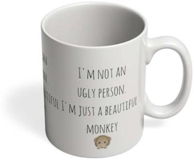 PosterGuy Beautiful Monkey - That,s Me! Ugly, Beautiful, Monkey Ceramic Mug