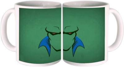 Shopkeeda The Super Hero Alien Center Ceramic Mug