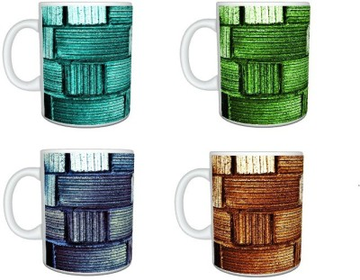 CreativesKart Weave  Family Pack Ceramic Mug
