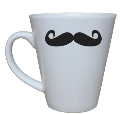 Thelostpuppy Moustache2smg Ceramic Mug