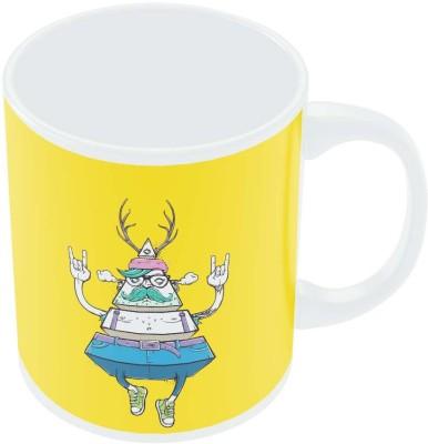PosterGuy Pyramid Theory Quirky Graphic Art Ceramic Mug
