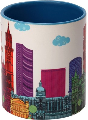 The Elephant Company  Mumbai Skyline Ceramic Mug