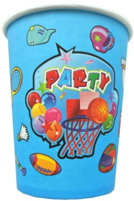 Funcart Sporty Party Paper Mug