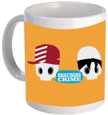 Giftsmate Funky Brothers in Crime Ceramic Mug