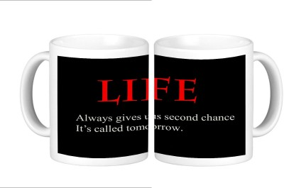 Shopmillions Life Quote Ceramic Mug