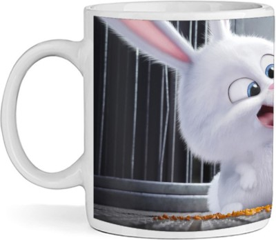 SBBT Rabbile Cut a key Ceramic Mug