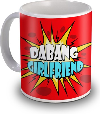 Sky Trends Dabang Girlfriend Gifts For Valentine,s Ceramic Mug