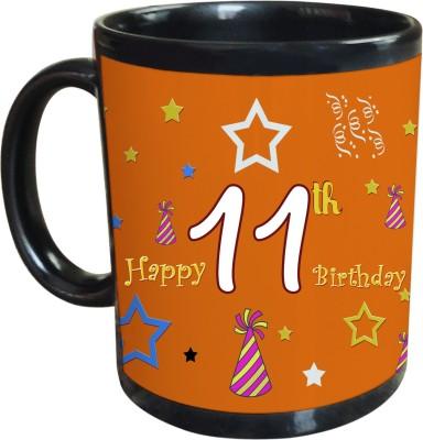 Sajawat Homes 11th Happy Birthday Coffee Ceramic Mug