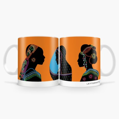 LetterNote Woman of the world Combo Ceramic Mug
