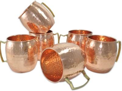 AsiaCraft MOSCOWMUG006-6 Copper Mug