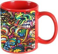 Printland Printland Unique Red Coffee 350 - ml Ceramic Mug(350 ml) best price on Flipkart @ Rs. 349