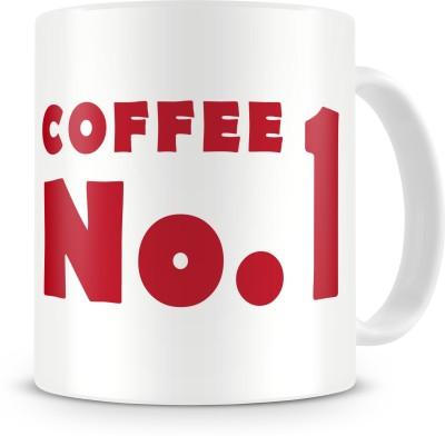 Print Haat Coffee No. 1 Ceramic Mug