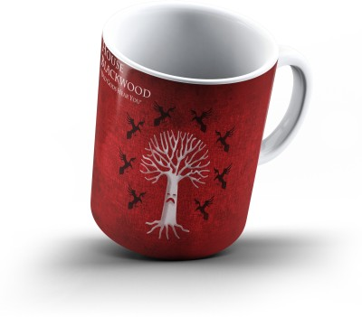 Ucard House Blackwood Game Of Thrones874 Bone China, Ceramic, Porcelain Mug