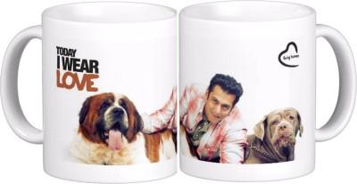 Exoctic Silver Salman Khan Quotes X013 Ceramic Mug(300 ml)