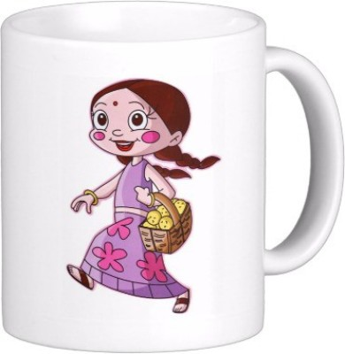 Exoctic Silver Chhota Bheem Series Kjl008 Ceramic Mug