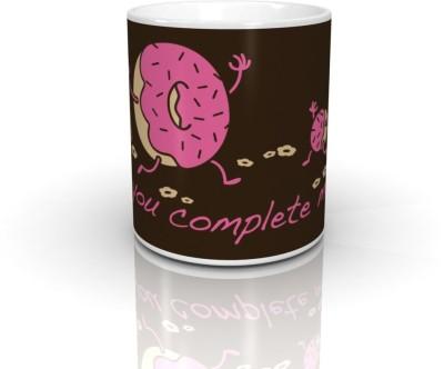 Bcreative You Complete Me Doughnut (Officially Licensed) Ceramic Mug