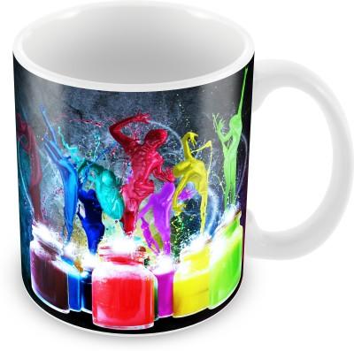 Prinzox Colors Of Life Ceramic Mug