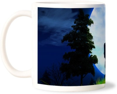 Lovely Collection Blue Moon Love Ceramic Mug