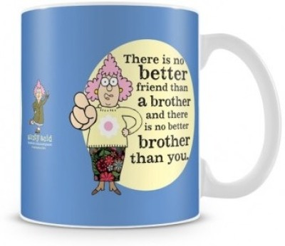 Tashanstreet Aunty Acid - Brother is my best friend Ceramic Mug
