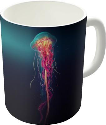 Dreambolic Jellyfish Ceramic Mug