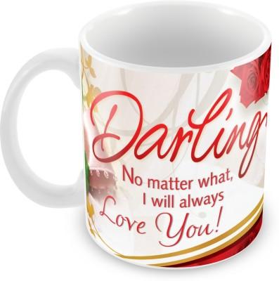 Fashion Envoy Love You Always Valentine  Ceramic Mug