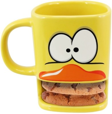 Its Our Studio Brew Duck  - Yellow Ceramic Mug
